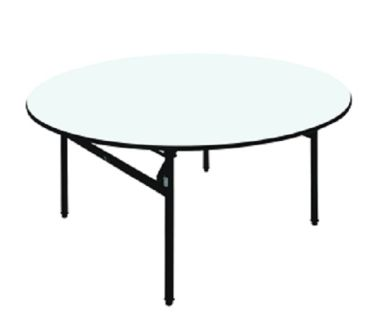 BANQUET TABLE  Round Folding Table<br> 1 banquet_round_table